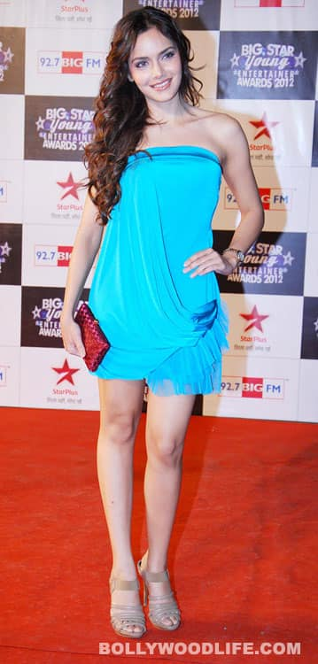 Shazahn Padamsee at the 'BIG Star Young Entertainment Awards'.