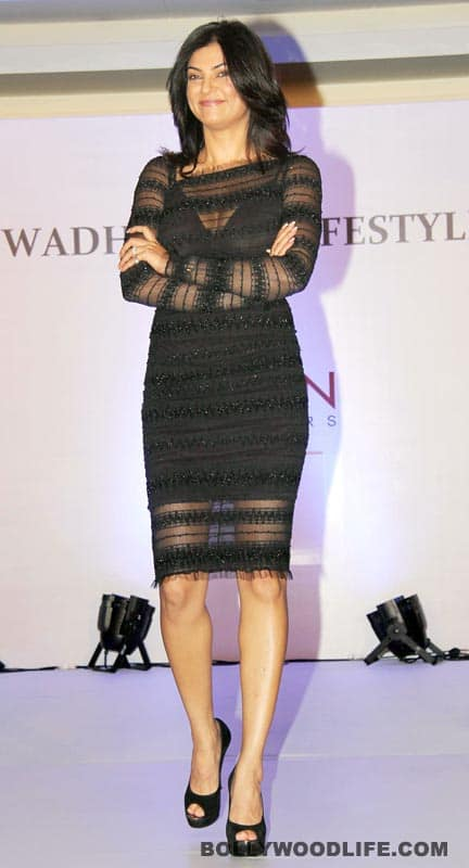 Sushmita Sen at the 'I am she' fashion show