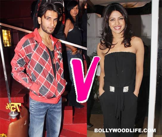 Priyanka Chopra snubs RanveerSingh