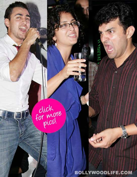 Vidya's man rocked the night away with Imran and Kiran