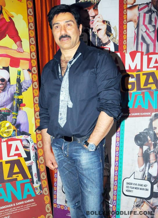 Sunny Deol gets in touch with his romantic side
