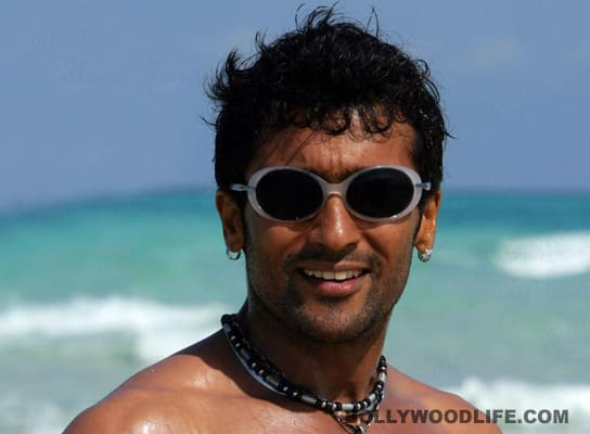 Suriya celebrates birthday with 'Maatraan' team