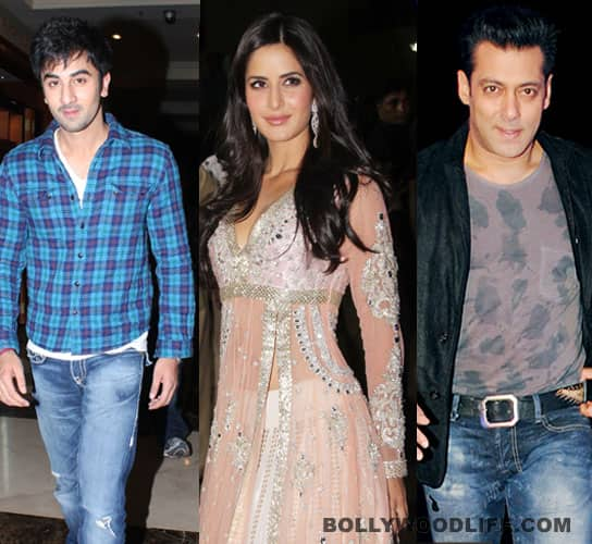 Ranbir-Katrina-Salman: inexplicable love triangle?