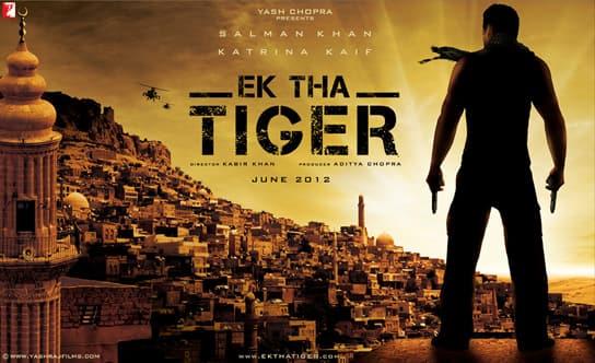 EK THA TIGER: Digital poster
