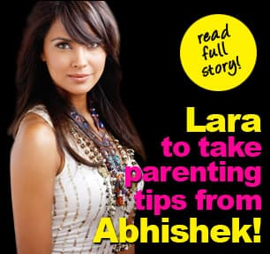 Lara Dutta to take parenting tips from Abhishek Bachchan
