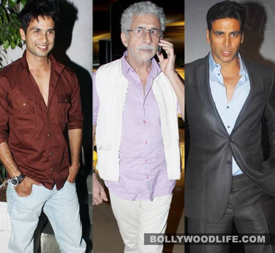 Shahid, Naseer to join Akshay at TIFF 2011