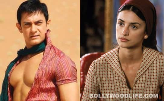 Aamir Khan dreams of Hollywood heroines!