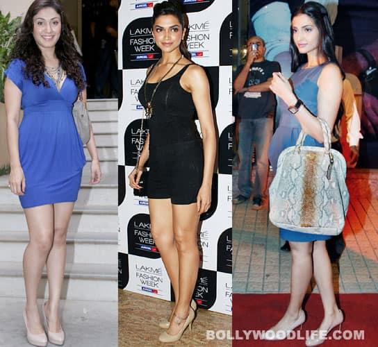 Deepika, Sonam, Manjari gonude!