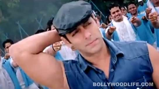 Salman flexed his muscles and we swooned!