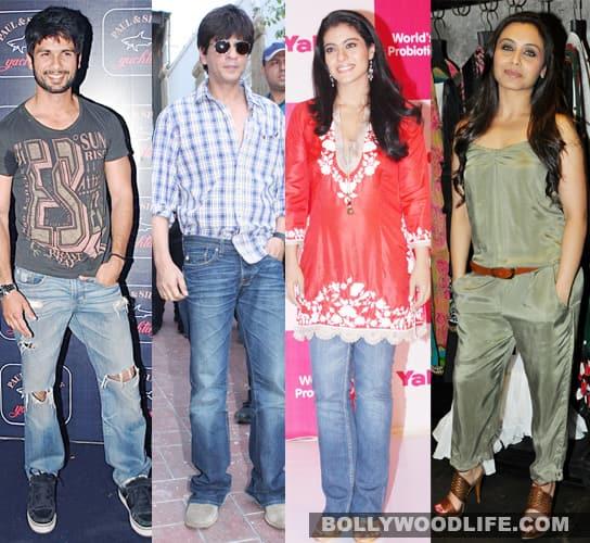 Shahid Kapoor stars with SRK, Kajol, Rani
