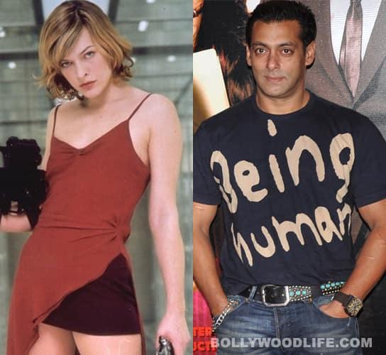Salman Khan has a fan in H'wood hottie Milla Jovovich