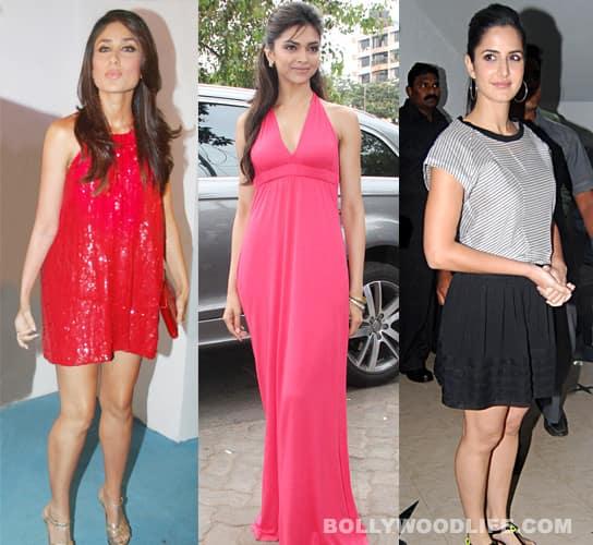 Deepika Padukone, Kareena Kapoor, Katrina Kaif disappointed