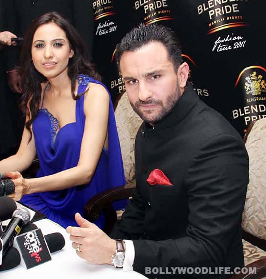 Mandira Wirk and Saif Ali Khan
