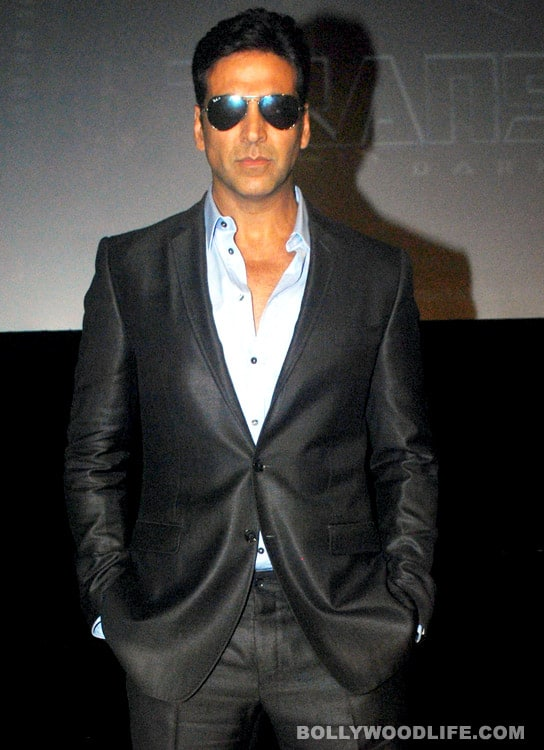 Can Akshay Kumar step into Rajinikanth's shoes?