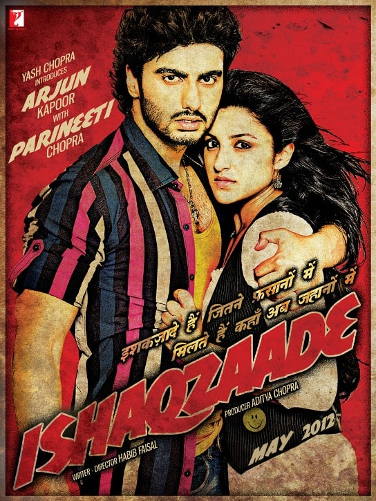 Yash Raj Films' ISHAQZAADE: Arjun Kapoor and Parineeti Chopra's first look