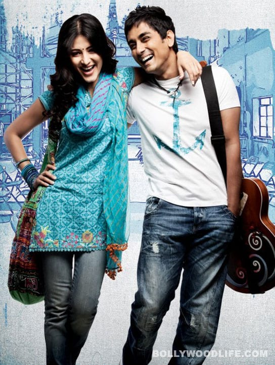 Siddharth and Shruti Haasan try their luck again with 'O My Friend'