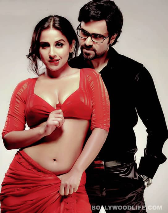 Vidya Balan's beau upset with 'The Dirty Picture' kissing scenes