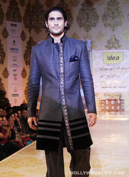Prateik to walk the ramp for Rina Dhaka at WIFW