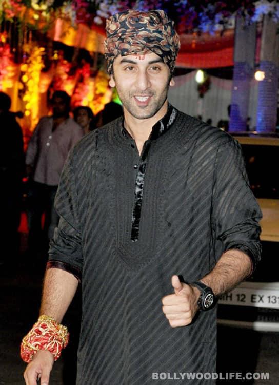 Ranbir Kapoor flaunts a grunge look!
