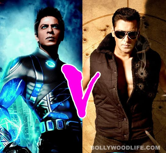 Shahrukh Khan's 'RA.One' rules the worldwide box office!