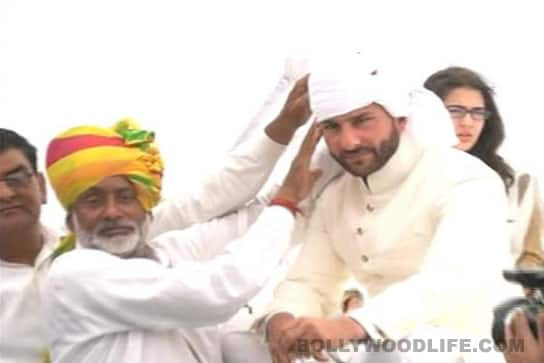 Saif Ali Khan crowned Nawab of Pataudi
