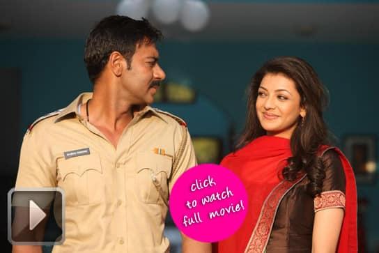 Singham's Ajay Devgn fools Kajal Aggarwal