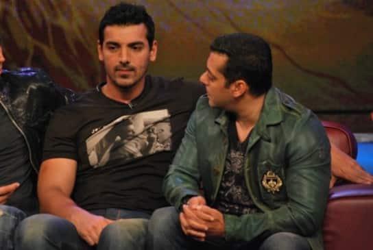 Has Salman Khan forgiven John Abraham?