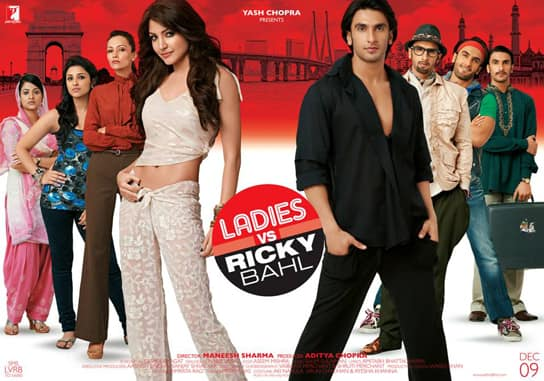 LADIES VS RICKY BAHL: Ranveer and his ladies in the new poster