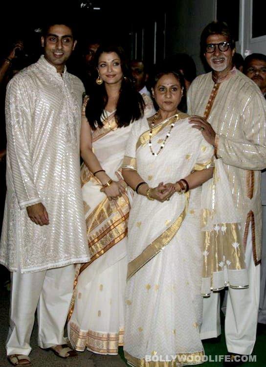 Grandad Amitabh Bachchan loses his heart to Baby B!