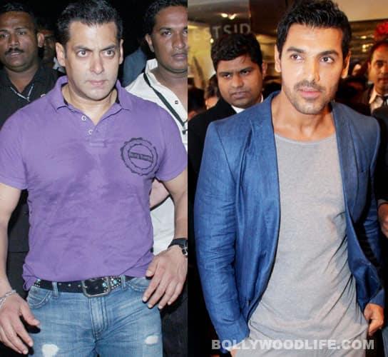 John Abraham encounters Salman Khan