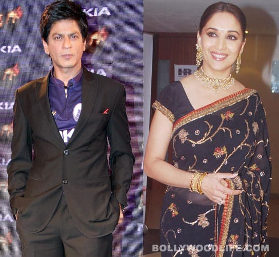 Shahrukh Khan, Madhuri Dixit flag off 42nd IIFI in Goa