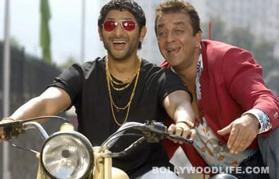 Sanjay Dutt & Arshad Warsi in 'Munnabhai ki Aatma Katha'