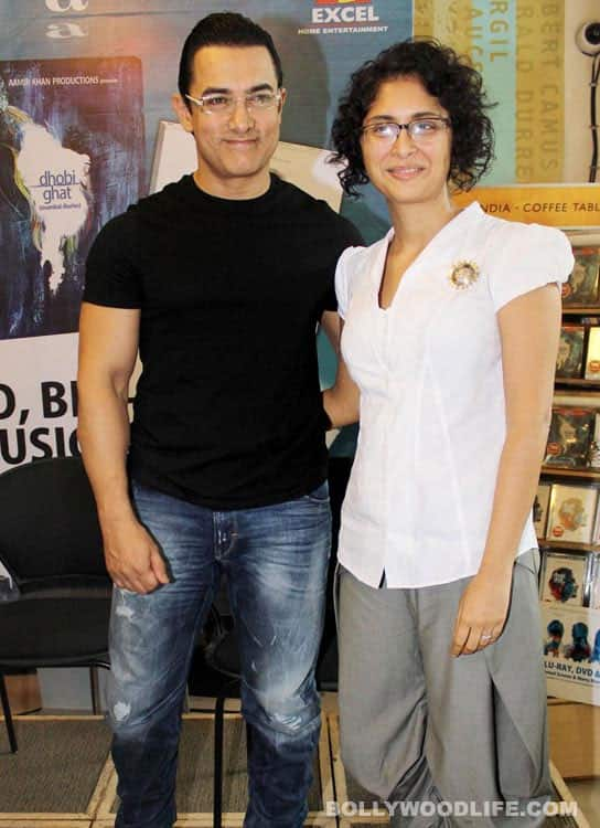 Aamir Khan: Kiran and me can't get enough of Azad!