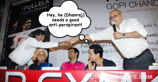 What is Aamir Khan thinking?