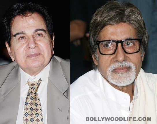 Amitabh Bachchan, Dilip Kumar receive Maharashtrian honour inMumbai