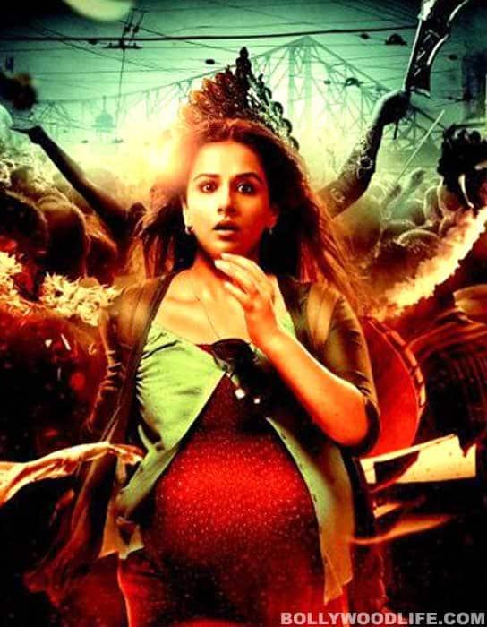 KAHAANI poster: Vidya Balan as Goddess Durga