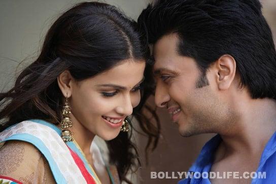 TERE NAAL LOVE HO GAYA first look: Riteish Deshmukh, Genelia D'Souza look cute