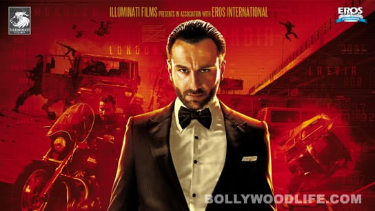 AGENT VINOD trailer: Saif Ali Khan reveals his true identity!