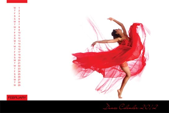 Shakti Mohan sizzles in her 2012 dance calendar!