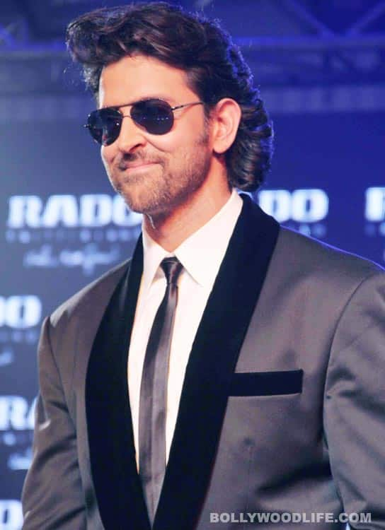 Did Hrithik Roshan ever look fat and flabby?