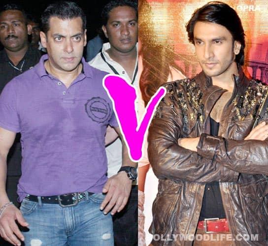 It's Salman Khan vs Ranveer Singh at the BO this Eid
