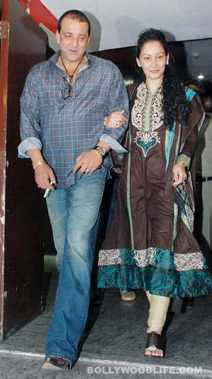 Sanjay Dutt with wife, Manyata Dutt