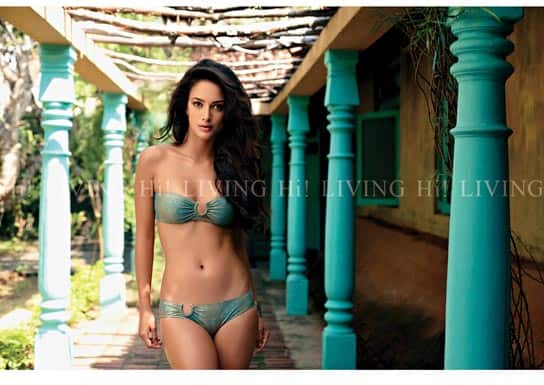 Kingfisher calendar models on the cover of Hi! LIVING
