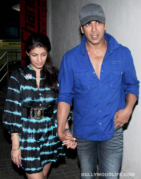 Akshay Kumar denies rift with wife Twinkle