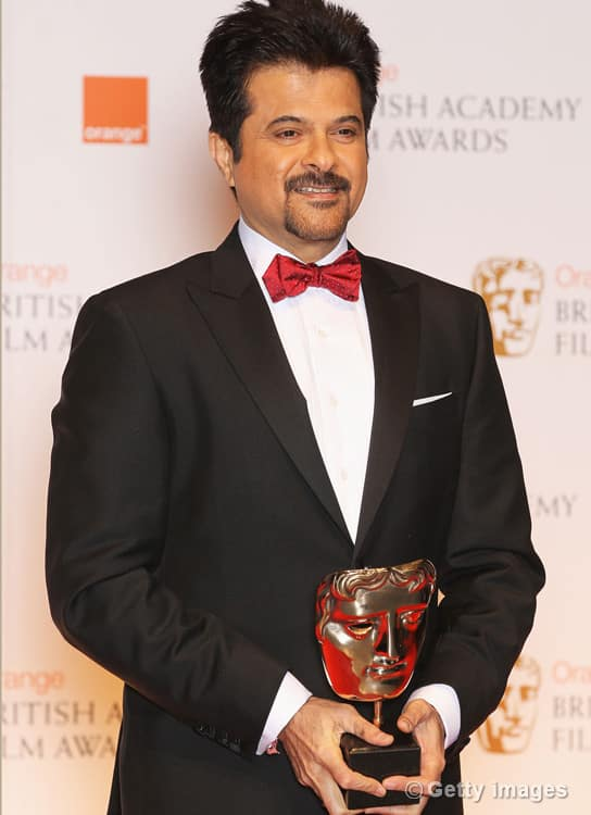 Anil Kapoor, Asif Kapadia at the BAFTA 2012 Awards