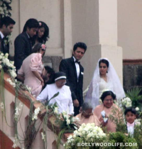 Riteish Deshmukh & Genelia D'Souza's church wedding and ...