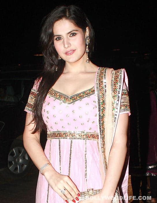 Will Salman Khan rescue Zarine Khan?