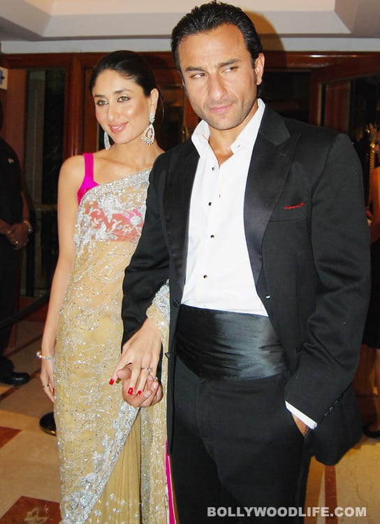 Saif Ali Khan loves Kareena Kapoor's trophies!