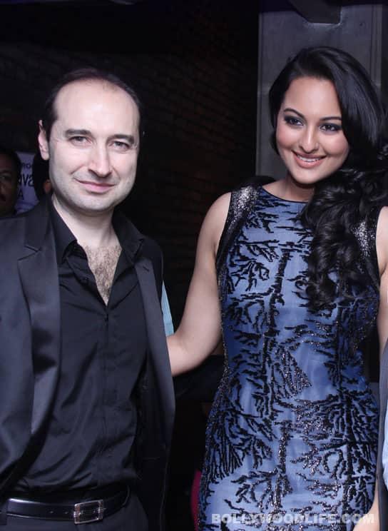 Sonakshi Sinha meets Tomasso Cavalli