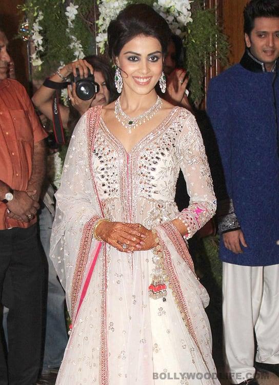 Ritu Kumar reveals Genelia D'Souza's wedding outfit
